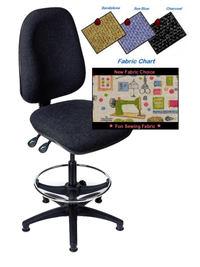 Horn Tall Hobby Sewing Chair